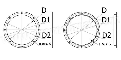 Фланцы круглые сварные чертежи