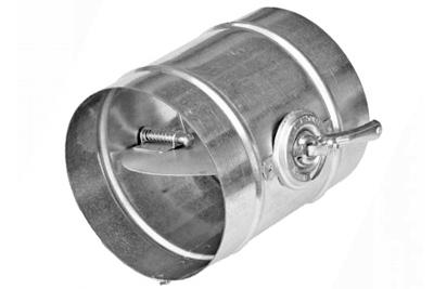 Дроссель клапан круглый