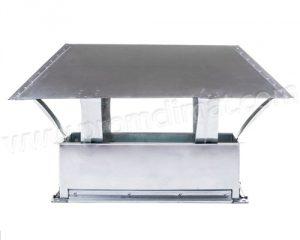 Зонт крышный прямоугольный
