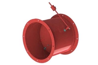 Обратный клапан круглый сварной